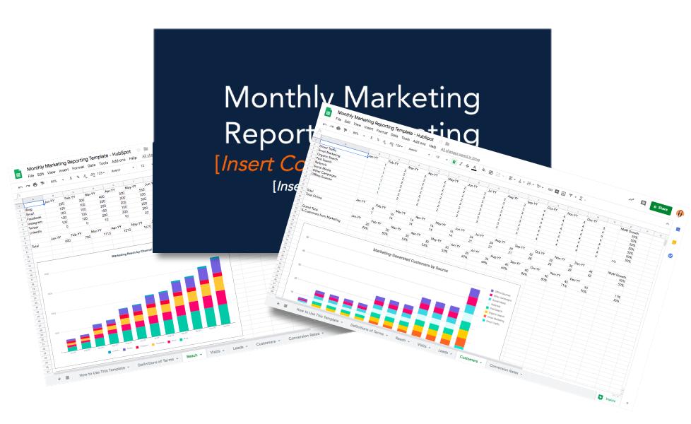 Monthly Marketing Reporting